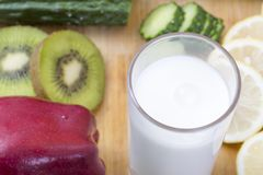 Alimento fresco e sano Immagine Stock