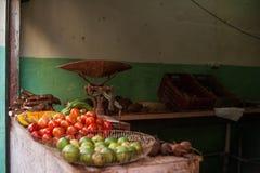 Alimento fresco, Havana Cuba fotografia stock