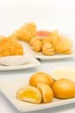 Alimento frito en el restaurante de Dim Sum Foto de archivo libre de regalías