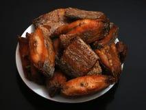 Alimento fritto Fotografia Stock