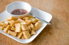 Alimento fritto della farina di fave Fotografie Stock Libere da Diritti
