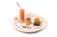 Alimento gastrónomo Imagenes de archivo