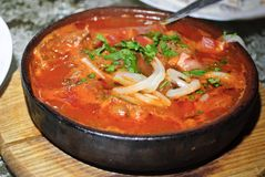 Alimento Georgian Fotografia de Stock Royalty Free