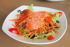 Alimento giapponese, anguilla arrostita su riso Fotografia Stock