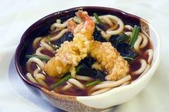 Alimento giapponese, minestra di tagliatelle   Fotografie Stock Libere da Diritti