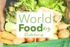 Alimento giorno 16 ottobre internazionale Fotografia Stock Libera da Diritti