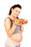 Alimento grávido, saudável Imagem de Stock
