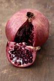 Alimento - granada Fotografía de archivo libre de regalías