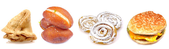 Alimento graso Foto de archivo libre de regalías