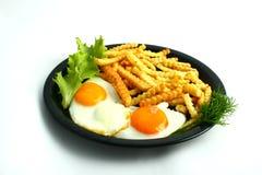 Alimento grasso Fotografia Stock Libera da Diritti
