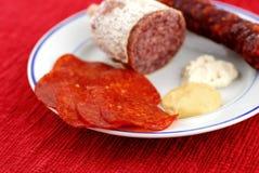 Alimento grasso non sano Fotografia Stock