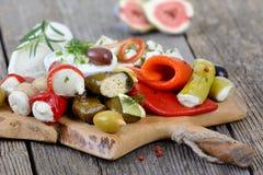 Alimento greco Fotografie Stock Libere da Diritti