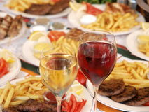 Alimento grego Imagens de Stock