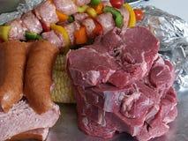 Alimento grezzo Fotografie Stock