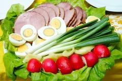 Alimento húngaro de pascua imagen de archivo