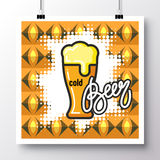 Alimento icons_poster_17 Fotografia Stock
