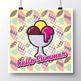 Alimento icons_poster_4 Foto de Stock Royalty Free