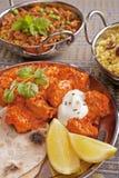 Alimento indiano Fotografia Stock Libera da Diritti
