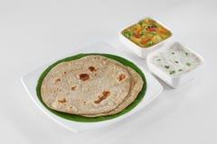 Alimento indiano Foto de Stock