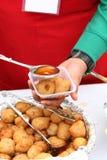 Alimento indiano da rua Foto de Stock
