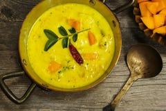 Alimento indiano del sud del curry del mango Fotografia Stock Libera da Diritti