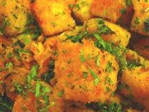 Alimento indiano Dhokla foto de stock