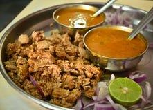 Alimento indiano di Rajasthani Immagine Stock Libera da Diritti