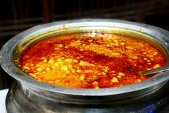 Alimento indiano no casamento foto de stock