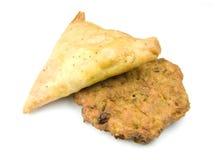 Alimento indio Foto de archivo libre de regalías