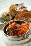 Alimento indio foto de archivo