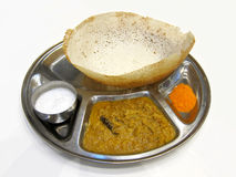 Alimento indio Appam Foto de archivo libre de regalías