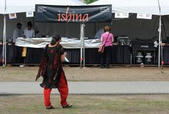 Alimento indio de Ishina Foto de archivo libre de regalías