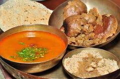 Alimento indio de Rajasthani Imagenes de archivo