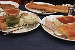 Alimento indio picante Imagen de archivo libre de regalías