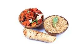 Alimento indio santo foto de archivo libre de regalías