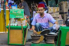 Alimento indonésio fotografia de stock