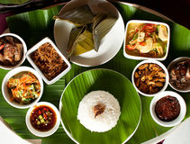 Alimento indonésio em bali