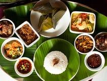 Alimento indonesiano in bali Fotografie Stock Libere da Diritti