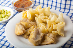 Alimento indonesiano Batagor Fotografia Stock