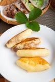 Alimento indonesiano Pukis Fotografia Stock