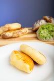 Alimento indonesiano Pukis Fotografie Stock