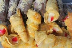 Alimento indonesio Kue Ucu Fotos de archivo