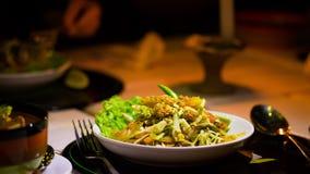 Alimento Insalata della Grecia Fotografie Stock Libere da Diritti