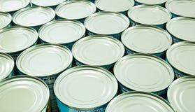Alimento inscatolato Fotografia Stock Libera da Diritti