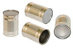Alimento inscatolato Fotografie Stock