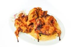 Alimento isolado no fundo branco Imagem de Stock