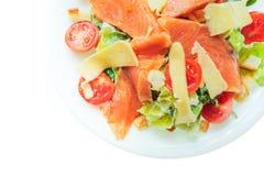 Alimento isolato su fondo bianco Fotografie Stock