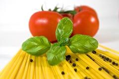 Alimento italiano Foto de archivo libre de regalías