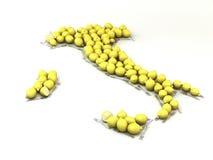 Alimento italiano Immagine Stock Libera da Diritti