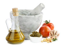 Alimento italiano imagem de stock